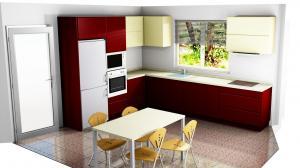 Proiect bucătărie la comandă Norvinia nr.730
