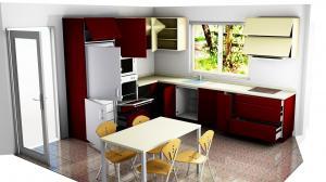 Proiect bucătărie la comandă Norvinia nr.731