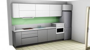 Proiect bucătărie la comandă Norvinia nr.742