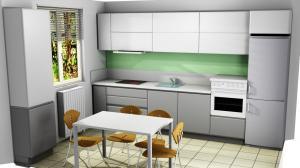 Proiect bucătărie la comandă Norvinia nr.740