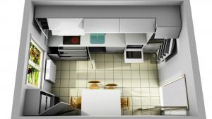 Proiect bucătărie la comandă Norvinia nr.747