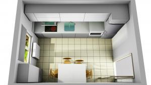 Proiect bucătărie la comandă Norvinia nr.746