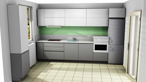 Proiect bucătărie la comandă Norvinia nr.743