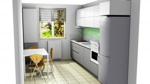 Proiect bucătărie la comandă Norvinia nr.744