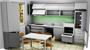 Proiect bucătărie la comandă Norvinia nr.741