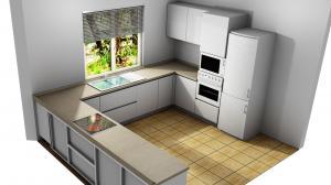 Proiect bucătărie la comandă Norvinia nr.794
