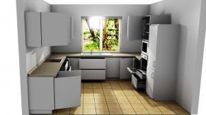 Proiect bucătărie la comandă Norvinia nr.793