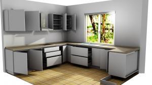 Proiect bucătărie la comandă Norvinia nr.791
