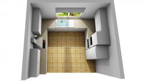 Proiect bucătărie la comandă Norvinia nr.796