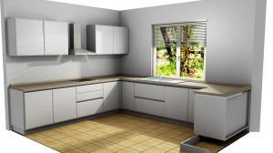 Proiect bucătărie la comandă Norvinia nr.790