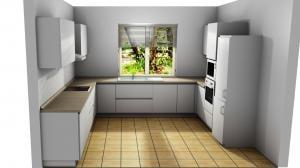 Proiect bucătărie la comandă Norvinia nr.792