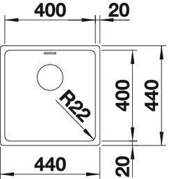 Blanco Andano 400-U [2]