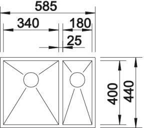 Blanco Quarta 340/180-U [2]