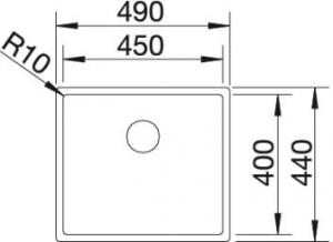 Blanco Quarta Ten 450-U2