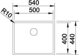 Blanco Quarta Ten 500-U2