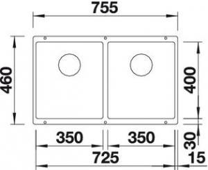 Blanco Subline 350/350-U3