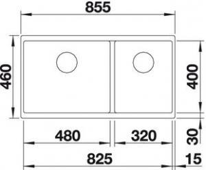 Blanco Subline 480/320-U2