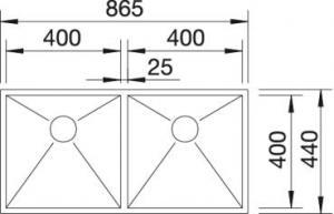 Blanco Zerox 400/400-U [2]