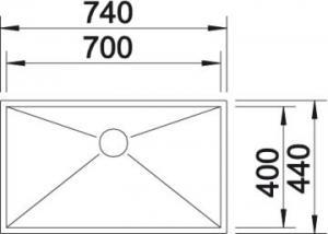 Blanco Zerox 700-U2