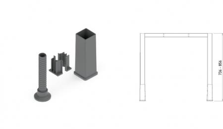 Picioare Cubo [5]