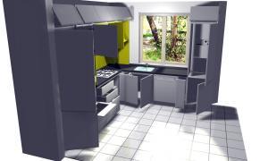 Proiect bucătărie la comandă Norvinia nr.13