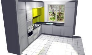 Proiect bucătărie la comandă Norvinia nr.12