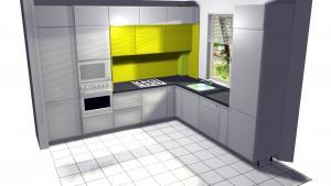 Proiect bucătărie la comandă Norvinia nr.10