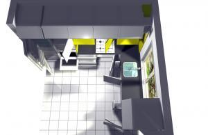 Proiect bucătărie la comandă Norvinia nr.14