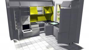 Proiect bucătărie la comandă Norvinia nr.11