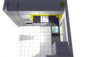 Proiect bucătărie la comandă Norvinia nr.15