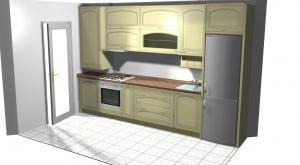 Proiect bucătărie mică la comandă Norvinia nr.113