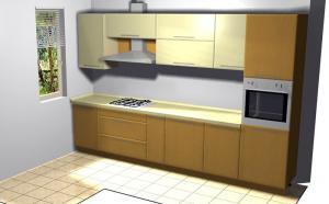 Proiect bucătărie la comandă Norvinia nr.147
