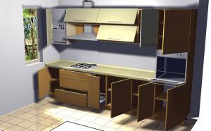 Proiect bucătărie la comandă Norvinia nr.146