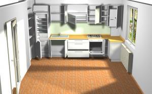 Proiect bucătărie la comandă Norvinia nr.143