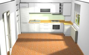 Proiect bucătărie la comandă Norvinia nr.144