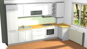 Proiect bucătărie la comandă Norvinia nr.140