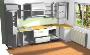 Proiect bucătărie la comandă Norvinia nr.142