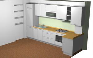 Proiect bucătărie la comandă Norvinia nr.141
