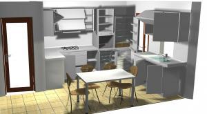 Proiect bucătărie mică la comandă Norvinia nr.177