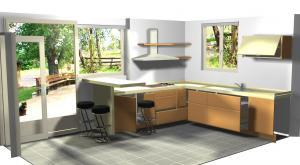 Proiect bucătărie la comandă Norvinia nr.181