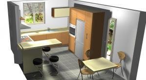 Proiect bucătărie la comandă Norvinia nr.182