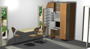Proiect bucătărie la comandă Norvinia nr.193