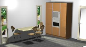 Proiect bucătărie la comandă Norvinia nr.191