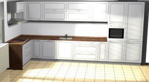 Proiect bucătărie la comandă Norvinia nr.20
