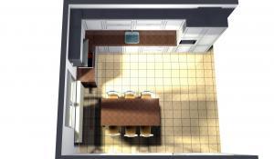 Proiect bucătărie la comandă Norvinia nr.21