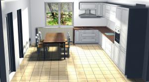 Proiect bucătărie la comandă Norvinia nr.22