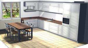 Proiect bucătărie la comandă Norvinia nr.24