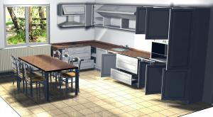 Proiect bucătărie la comandă Norvinia nr.23