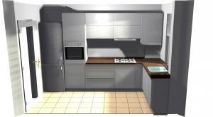 Proiect bucătărie mică la comandă Norvinia nr.212