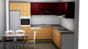 Proiect bucătărie la comandă Norvinia nr.291
